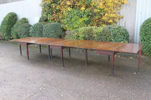 George Iii 16ft Mahogany Dining Table