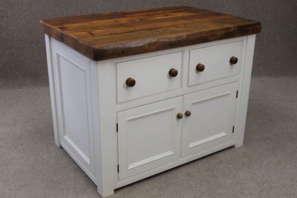 Glastonbury Reclaimed Pine Kitchen Unit
