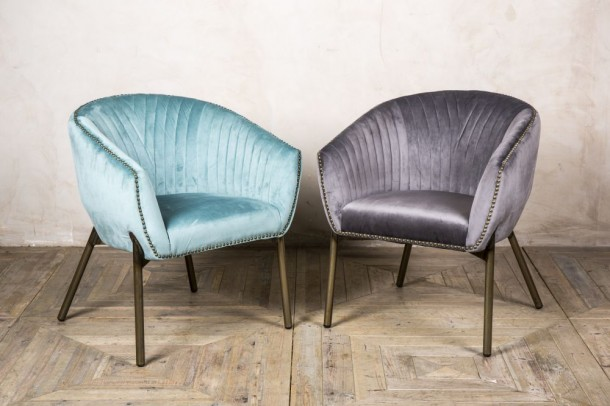 Granville Velvet Tub Chair Range