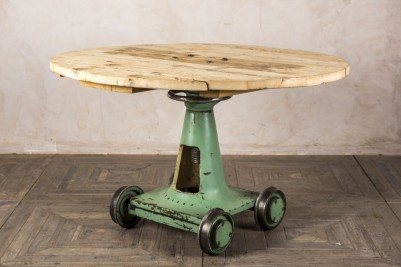 reclaimed factory table