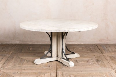 thick pedestal ironbridge table base