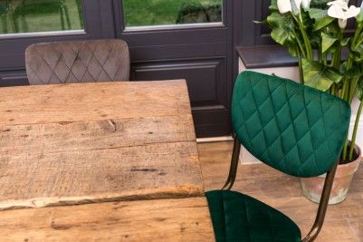 isobella hade green dining chair