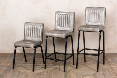 leather bar stool range