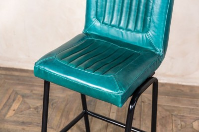 teal breakfast bar stool