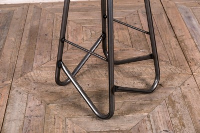leather top jewellery stool