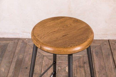 wooden top stool