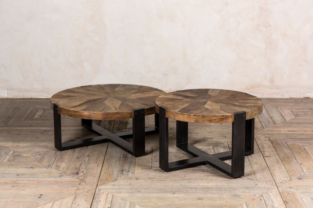 Keaton Round Wooden Coffee Table