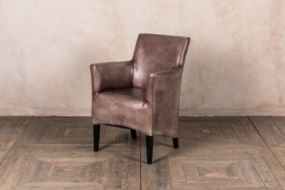 clay armchair