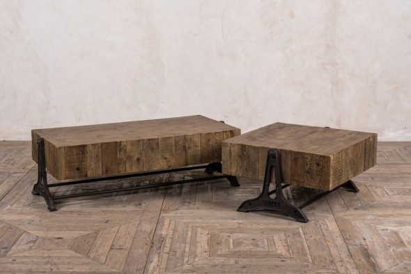 Kilburn Industrial Style Coffee Table Range