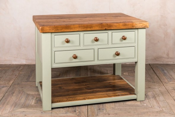 Harvington Handmade Pine Kitchen Island