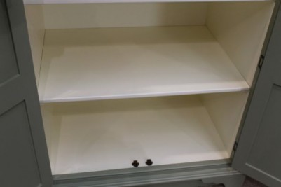 Farrow & Ball painted kitchen cupboard