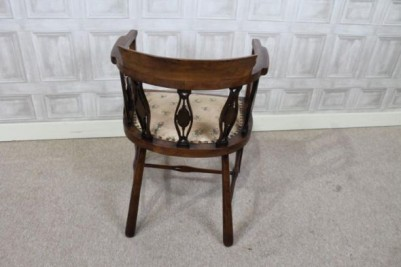 edwardian mahogany parlour chair