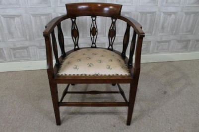 mahogany parlour chair