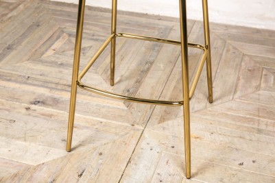 gold frame lily stool