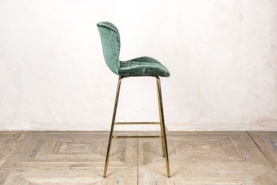 restaurant bar stool pine green