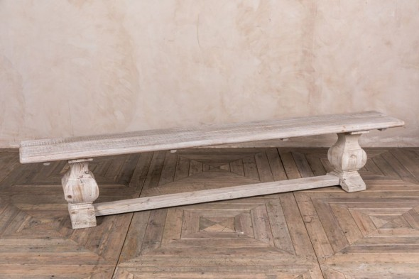 Limed Elm Bench Range
