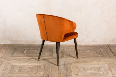 orange lorient chair