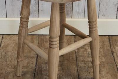 low kitchen stool
