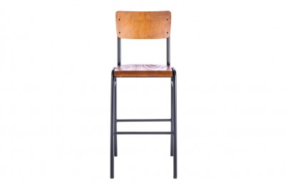 black luxor bar stool