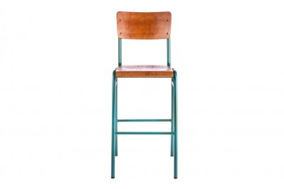 green luxor bar stool