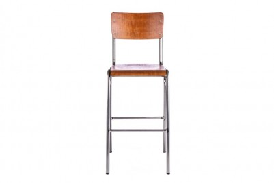 gunmetal luxor bar stool
