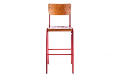 red luxor bar stool