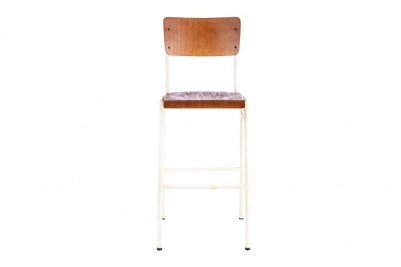 white luxor bar stool