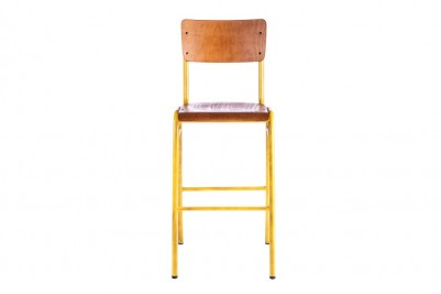 yellow luxor bar stool