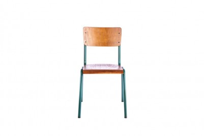 luxor stacking chair green