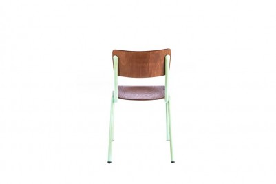 luxor stacking chair light green