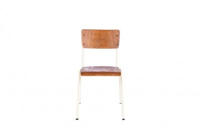luxor stacking chair white