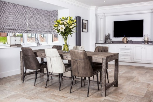 Miller Large Oak Dining Table Range