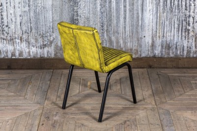 industrial style yellow chair