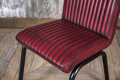 ribbed dining chairs