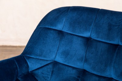 blue velvet occasional chairs