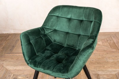 emerald green chairs