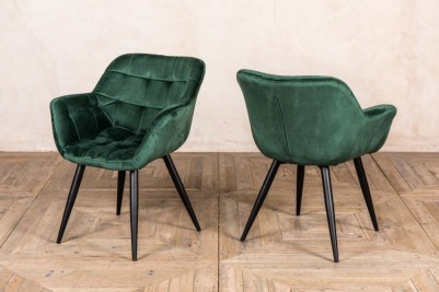 landscape green dining chair
