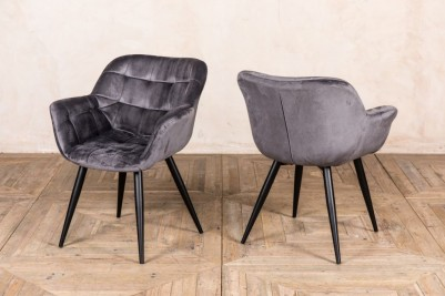 palette grey dining chair