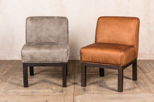 Murray Real Leather Dining Chair