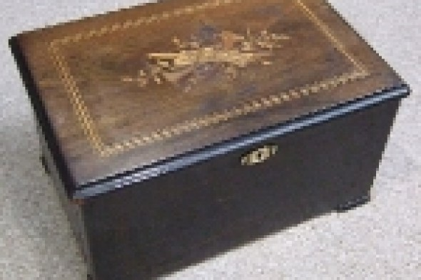 Victorian Inlaid Music Box