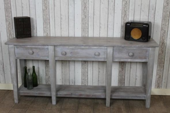 Naples Handmade Whitewash Sideboard