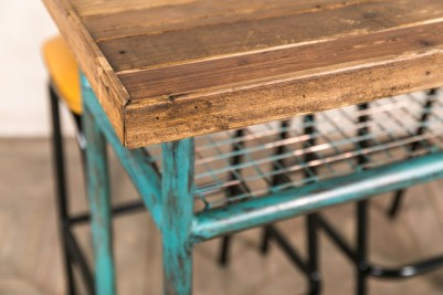 industrial style poseur table