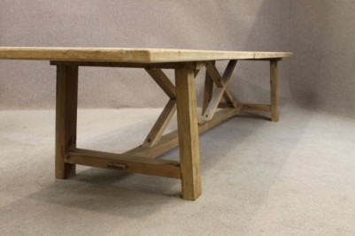 4mt rustic dining table