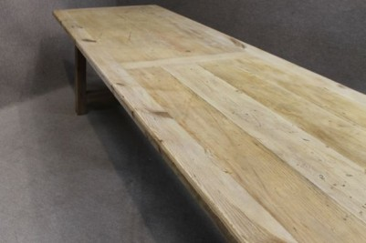 Large reclaimed pine table 4mt