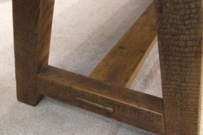distressed pine kitchen table