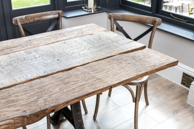 old barn dining table