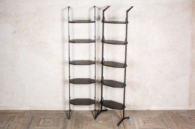 narrow shelving unit