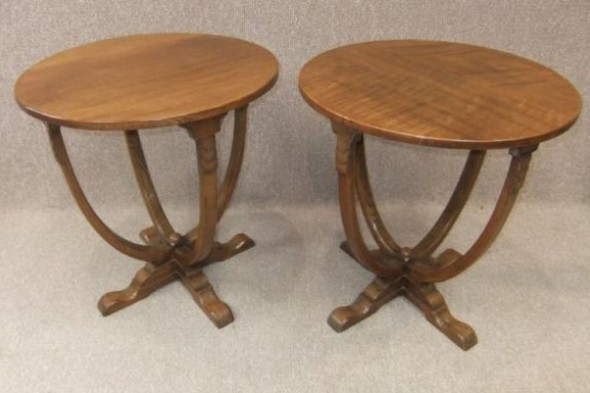 Pair of Art Deco Tables