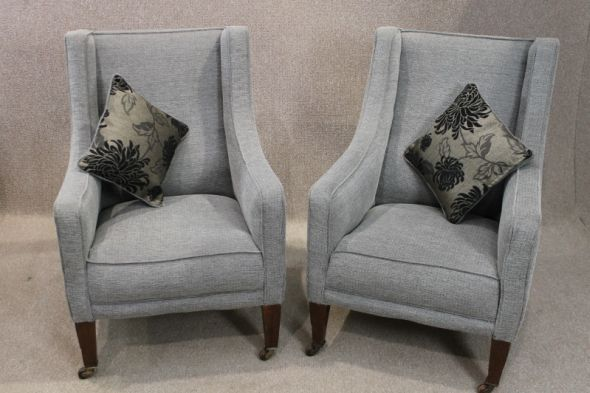 Pair of Late Victorian Armchairs
