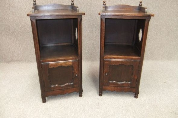 Bedside Cabinets Circa 1920s